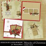 Miracle of Christmas Quick Pages-$3.49 (Laura Burger)