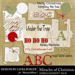Miracle of Christmas Add On Embellishment Pack-$4.99 (Laura Burger)