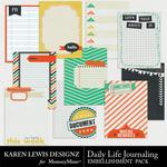 Daily Life Journal Pack-$1.99 (Karen Lewis)
