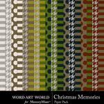 Christmas Memories Paper Pack 1-$3.99 (Word Art World)