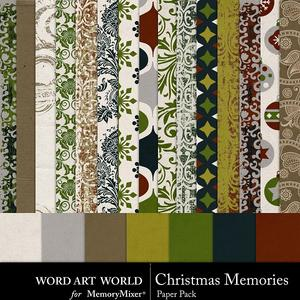 Christmas memories papers 2 medium