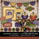 At The Old Cafe Corner Mini Pack-$3.49 (Jumpstart Designs)