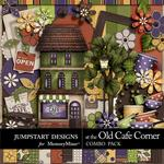 At The Old Cafe Corner Combo Pack-$4.99 (Jumpstart Designs)