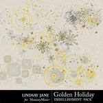 Golden Holiday Scatterz-$0.99 (Lindsay Jane)