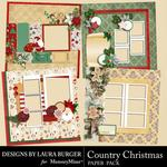 Country Christmas Quick Pages-$3.49 (Laura Burger)