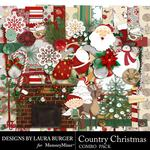 Country Christmas Combo Pack-$4.99 (Laura Burger)