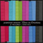 Elves On Overtime Plain Paper Pack-$3.49 (Jumpstart Designs)