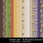 A Beautiful Autumn Paper Pack-$3.49 (Lindsay Jane)