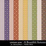 A Beautiful Autumn Extra Paper Pack-$1.99 (Lindsay Jane)