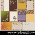A Beautiful Autumn Journal Cards-$1.99 (Lindsay Jane)