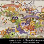 A Beautiful Autumn Embellishment Pack-$3.49 (Lindsay Jane)