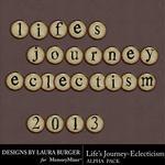 Lifes Journey Eclecticism Alpha Pack-$0.99 (Laura Burger)