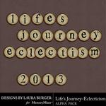 Lifes Journey Eclecticism Alpha Pack-$0.99 (Laura Burger)