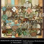 Lifes Journey Eclecticism Combo Pack-$4.99 (Laura Burger)