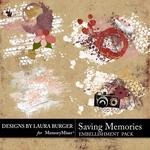 Saving Memories Splatters-$2.49 (Laura Burger)
