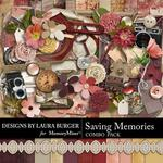 Saving Memories Combo Pack-$4.99 (Laura Burger)