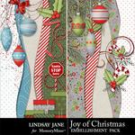 Joy of Christmas Borders-$1.99 (Lindsay Jane)