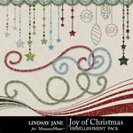 Joy of Christmas Glitter Bits-$1.99 (Lindsay Jane)