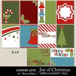 Joy of Christmas Journal Cards-$1.99 (Lindsay Jane)