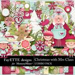 Christmas with Mrs Claus Combo Pack-$7.99 (Fayette Designs)