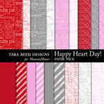 Happy Heart Day Paper Pack-$2.99 (Tara Reed Designs)