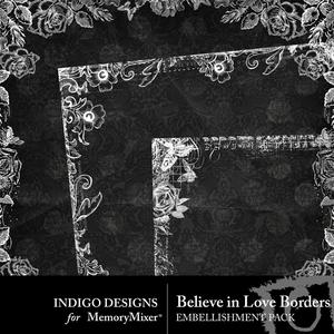 Believeinlove borders medium