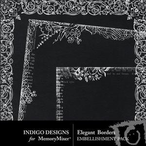 Elegant borders medium