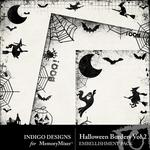 Halloween Borders Volume 2-$1.99 (Indigo Designs)