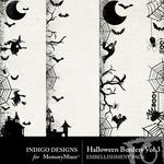 Halloween Borders Volume 3-$1.99 (Indigo Designs)