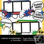 Super Hero Add On Embellishment Pack-$2.99 (Albums to Remember)