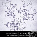 Peace In My Soul Swirls-$1.99 (Indigo Designs)