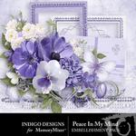 Peace In My Soul Embellishment Pack-$2.99 (Indigo Designs)