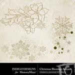 Christmas Blessings Accent Pack-$1.99 (Indigo Designs)