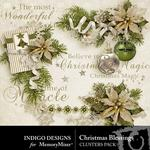 Christmas Blessings Cluster Pack-$1.99 (Indigo Designs)
