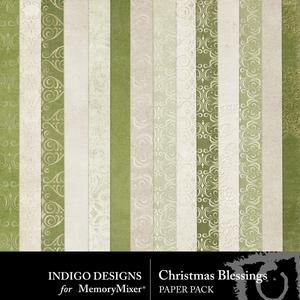 Christmasblessings papers medium