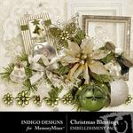 Christmas Blessings Embellishment Pack-$2.99 (Indigo Designs)