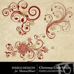 Christmas Glow Swirl Pack-$1.99 (Indigo Designs)