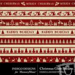 Christmas Glow Border Pack-$1.99 (Indigo Designs)