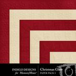 Christmas Glow Embossed Paper Pack-$2.99 (Indigo Designs)