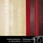 Christmas Glow Paper Pack-$2.99 (Indigo Designs)