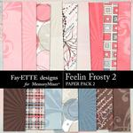 Feelin Frosty 2 Paper Pack 2-$3.99 (Fayette Designs)