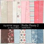Feelin Frosty 2 Paper Pack 1-$3.99 (Fayette Designs)