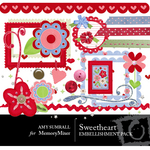 Sweetheart Embellishment Pack-$3.00 (Amy Sumrall)