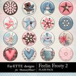 Feelin Frosty 2 Flairs Pack-$1.99 (Fayette Designs)