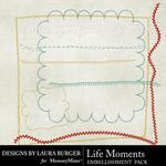 Life Moments Stitching-$2.49 (Laura Burger)
