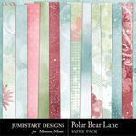 Polar Bear Lane Blend Paper Pack-$3.49 (Jumpstart Designs)