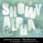 Polar Bear Lane Alpha Pack-$2.99 (Jumpstart Designs)