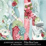 Polar Bear Lane Borders-$2.99 (Jumpstart Designs)