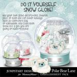 Polar Bear Lane Snow Globe-$3.99 (Jumpstart Designs)