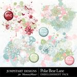 Polar Bear Lane Splatters-$2.49 (Jumpstart Designs)